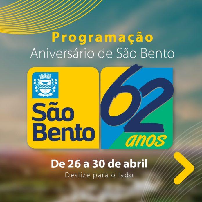 WhatsApp Image 2021 04 26 at 10.52.28 696x696 - Prefeitura de São Bento divulga Programação do Aniversário de 62 anos de Emancipação Política do município - São Bento