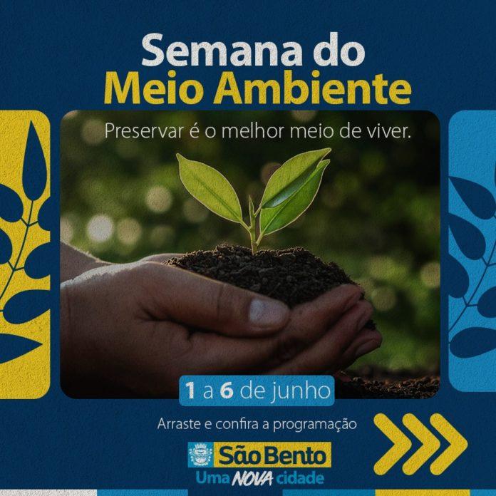 IMG 20210601 WA0148 696x696 - Prefeitura de São Bento divulga Programação da Semana do Meio Ambiente - São Bento